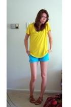 Old Navy shirt - TJ Maxx shorts