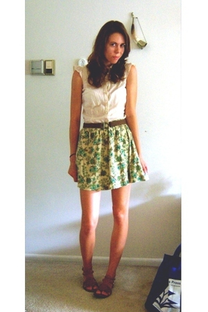 H&M shirt - Wet Seal skirt