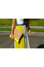 Navy-haus131-haus131-dress-yellow-madly-yours-madly-yours-purse