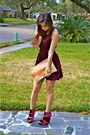 Velvet-messeca-shoes-velvet-mink-pink-dress-madly-yours-purse
