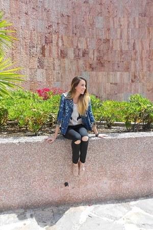 suiteblanco shoes - Stradivarius shirt - Bershka pants