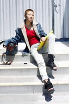 Levis jacket - Alexander Wang sandals