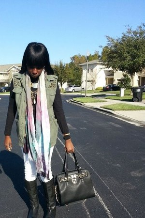 Urban Outfitters boots - Urban Outfitters blazer - Urban Outfitters pants