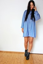 Secondhand blouse - Ebay boots