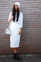 asos skirt - Ebay shoes - H&M hat - asos bag - veromoda t-shirt