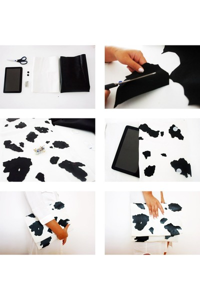 cow DIY bag