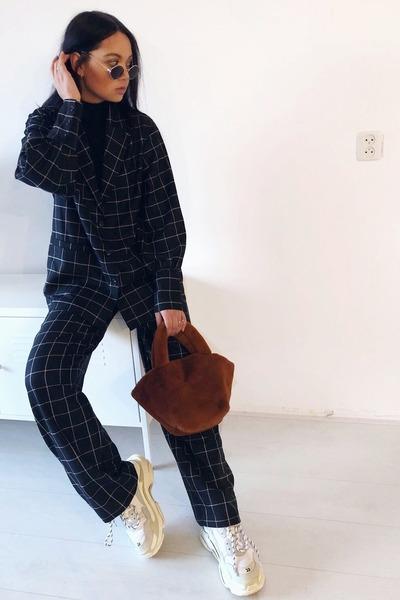 balenciaga sneakers - H&M jacket - H&M pants