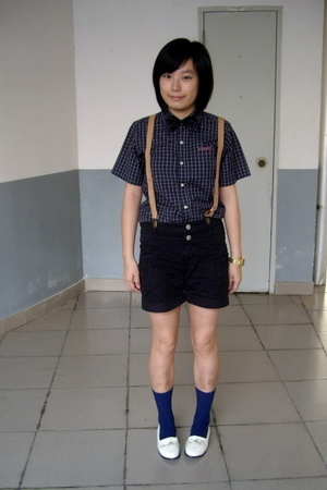 dog dept shirt - tie -  accessories - j-honey shorts - POLO RALPH LUARAN socks -