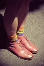 Red-h-m-shorts-ruby-red-hushpuppies-boots-sky-blue-shuca-shirt