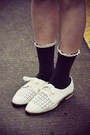 White-hushpuppies-flats-off-white-sweater
