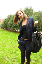 black Oggi jacket - black Oggi shorts