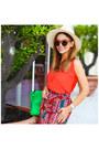Eugenia-kim-hat-hermes-bag-woodsun-sunglasses-h-m-top-aldo-heels