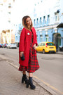 Celine-boots-moschino-dress-celine-coat-bottega-veneta-bag