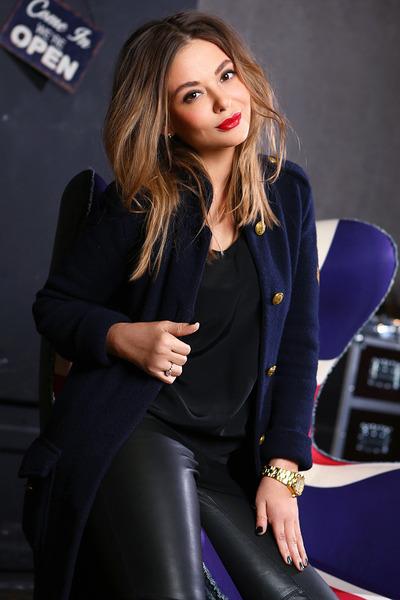 Ralph Lauren cardigan - Balmain pants - Zara top