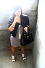 Black-thrifted-jacket-gray-thrifted-dress-black-sm-department-store-white-