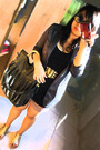 Black-yanie-medina-blazer-black-top-brown-divisoria-shorts-gold-rusty-lope