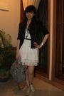 Black-forever-21-jacket-white-zara-top-white-zara-dress-silver-wondershoe-