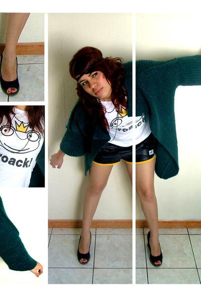 Forever21 accessories - Bershka t-shirt - nike shorts - Zara shoes