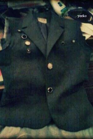 red vintage blazer