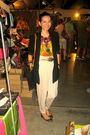 Daisy-fuentes-blouse-mango-blazer-h-m-pants-jhajings-necklace-aldo-brace