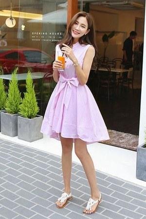 pink migunstyle dress
