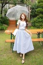light blue Styleonme skirt