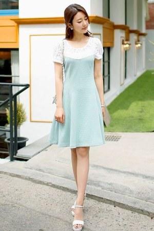 aquamarine J-ANN dress