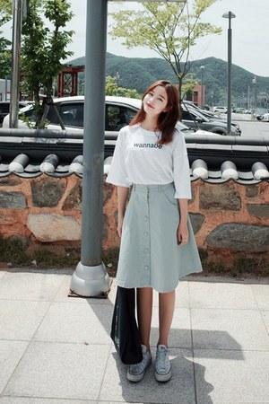 aquamarine Cherrykoko skirt