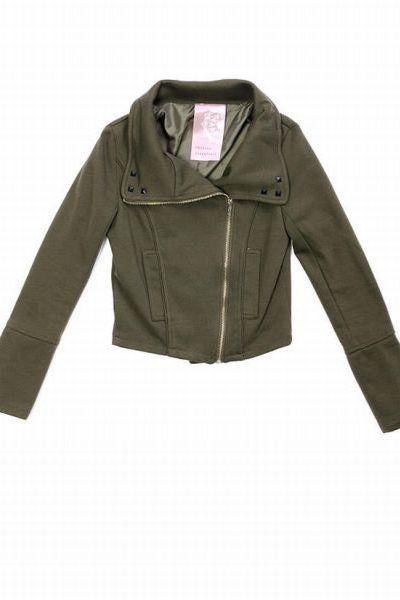 studded bik prischu essentials Studded Biker Jacket jacket