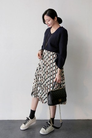 ivory UPTOWNHOLIC skirt