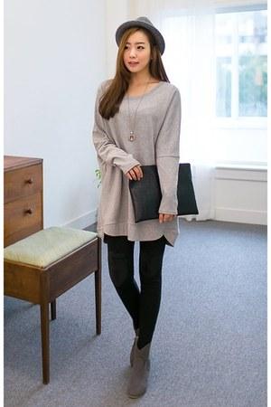 drop-shoulder J-ANN sweatshirt