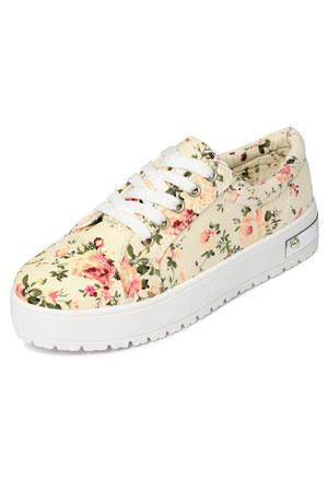 floral platform yeswalker sneakers