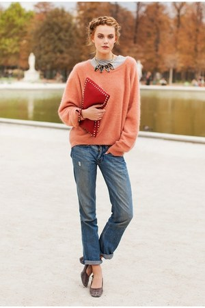 Valentino sweater - Valentino bag - Levis pants