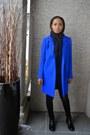 Blue-wool-fovever21-coat