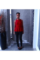 red Dynamite blouse