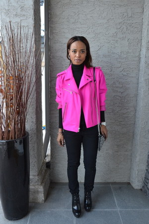 hot pink Gap jacket