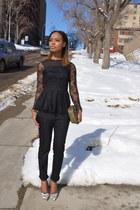 lace Zara blouse - Aldo heels