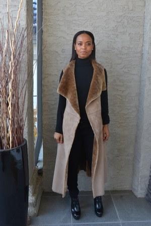 camel suede parkhurst coat