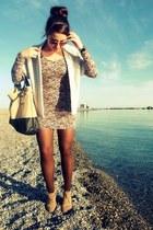 H&M dress - Zara bag - Zara cardigan