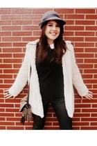 Zara bag - BLANCO coat - Stra jeans - BLANCO hat - Zara heels - Zara blouse