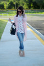 White-lips-kiss-sheinside-shirt-black-beau-kate-spade-bag