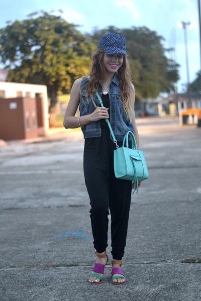 7f6965f25869 blue floral JCrew hat - light blue mint mab mini Rebecca Minkoff bag