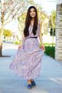 Violet-maxi-dress-morphologie-dress-sky-blue-slip-on-c-label-sneakers