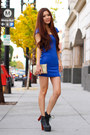 Black-jeffrey-campbell-boots-blue-party-charlotte-russe-dress