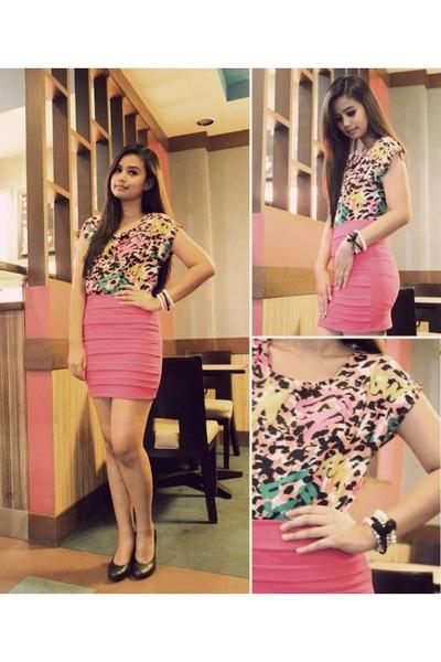hot pink Glam Zone skirt