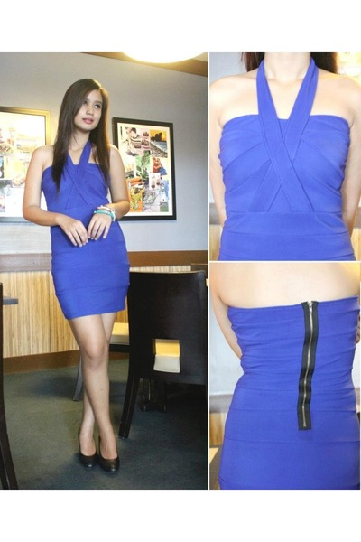 blue Glam Zone dress
