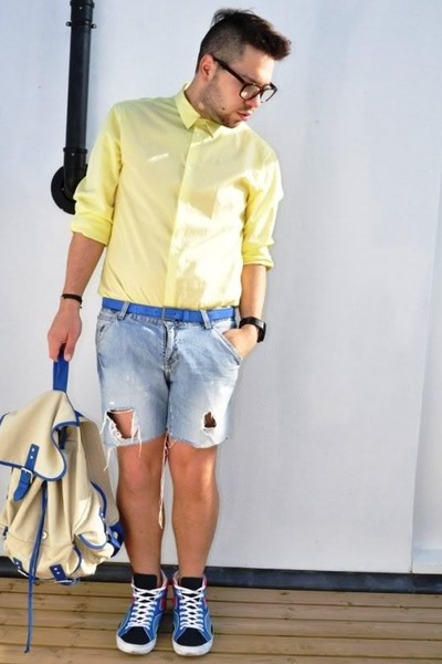 H&m Shirt Diy Shorts H&m