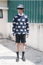 Black-dr-martens-shoes-navy-topman-sweater