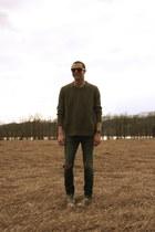 Mar Co Op jeans - JCrew sweater - Converse sneakers