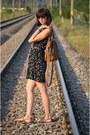 Black-takko-dress-brown-reserved-bag-new-yorker-sunglasses